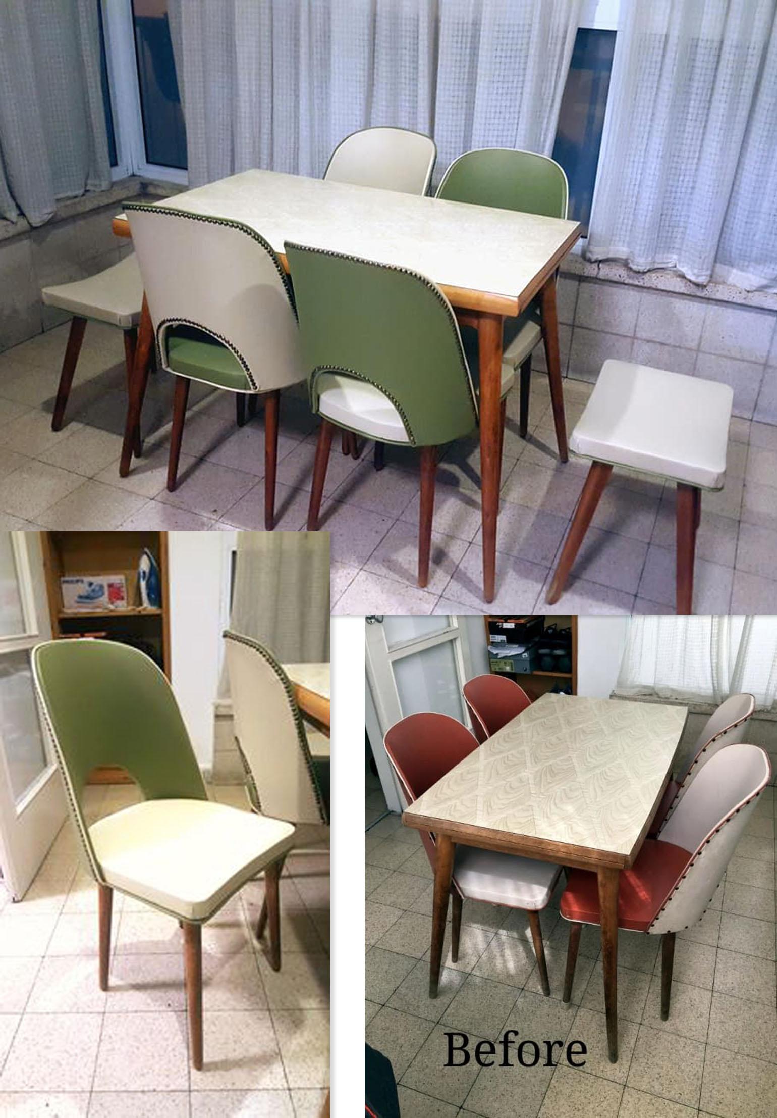 שולחנות כסאות וינטג' 24.4